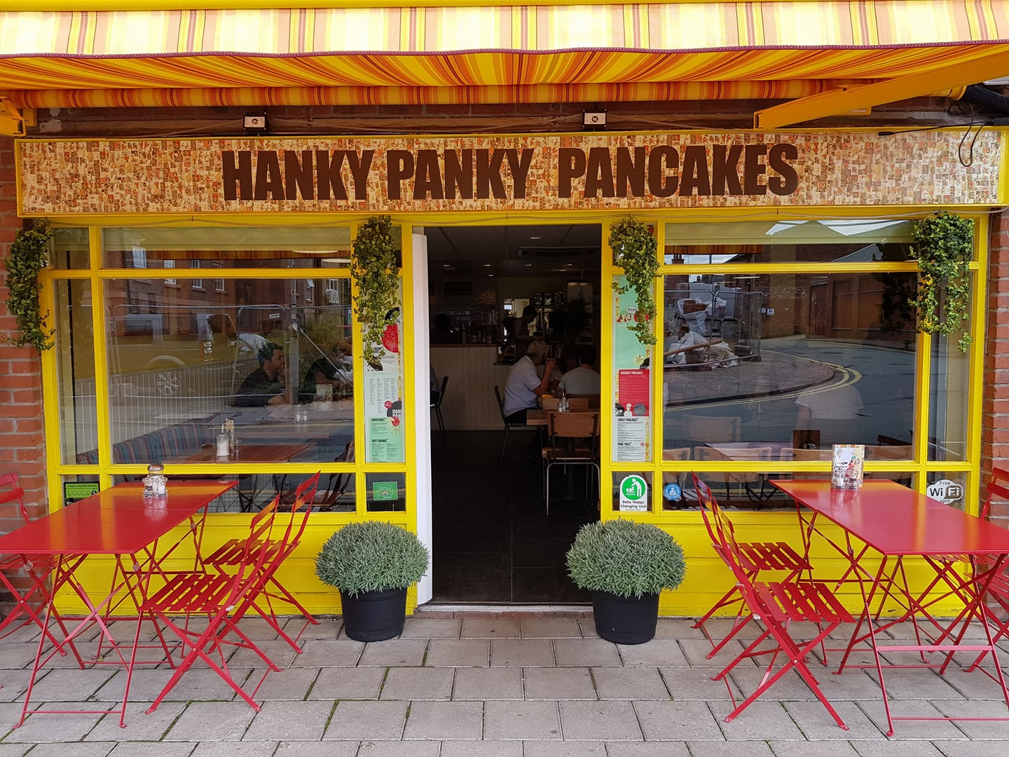 Hanky Panky Pancakes Chester - The Hotel Chester